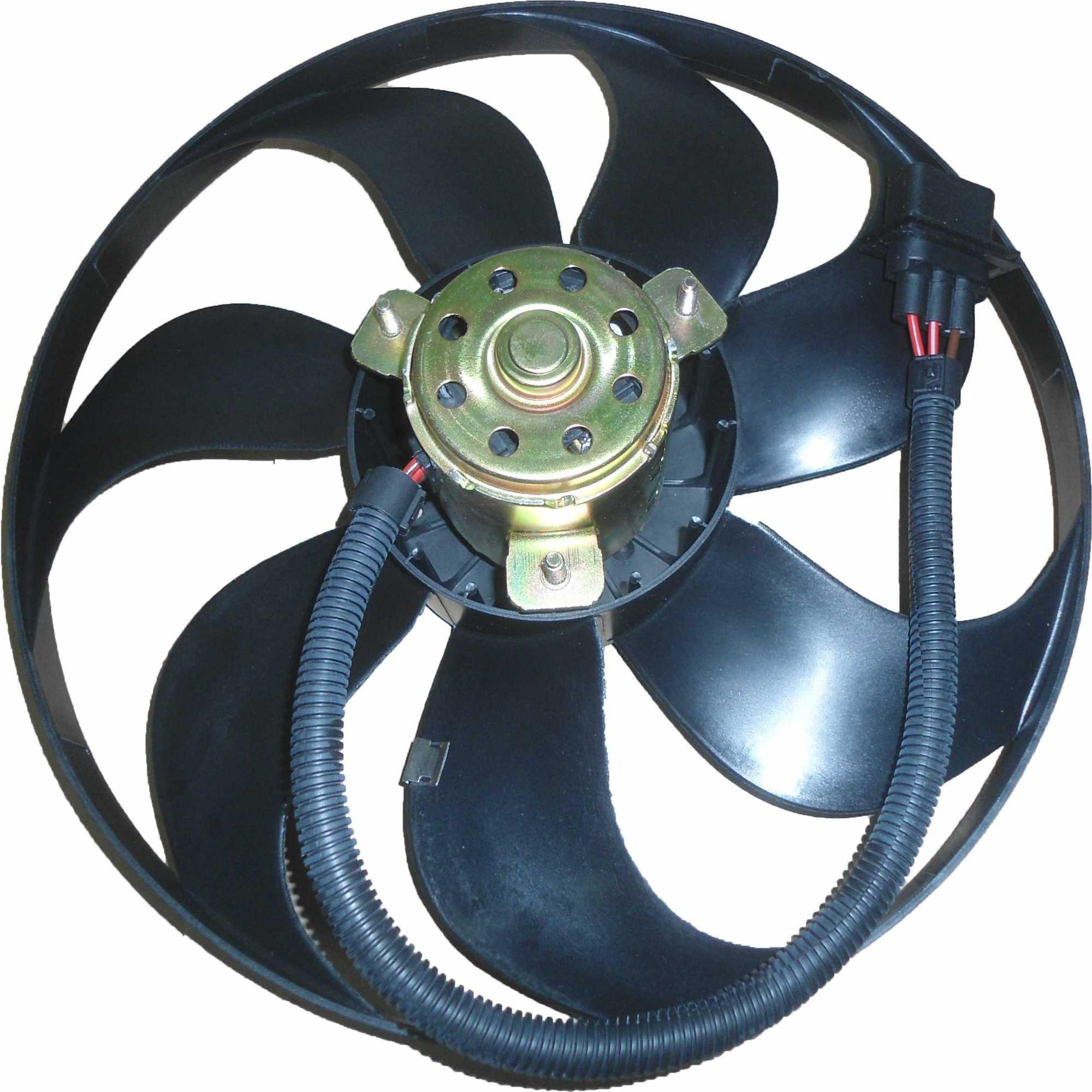 Eletroventilador - Fox C/S/Ar/Golf/Bora/A3  Fino Comprido Le