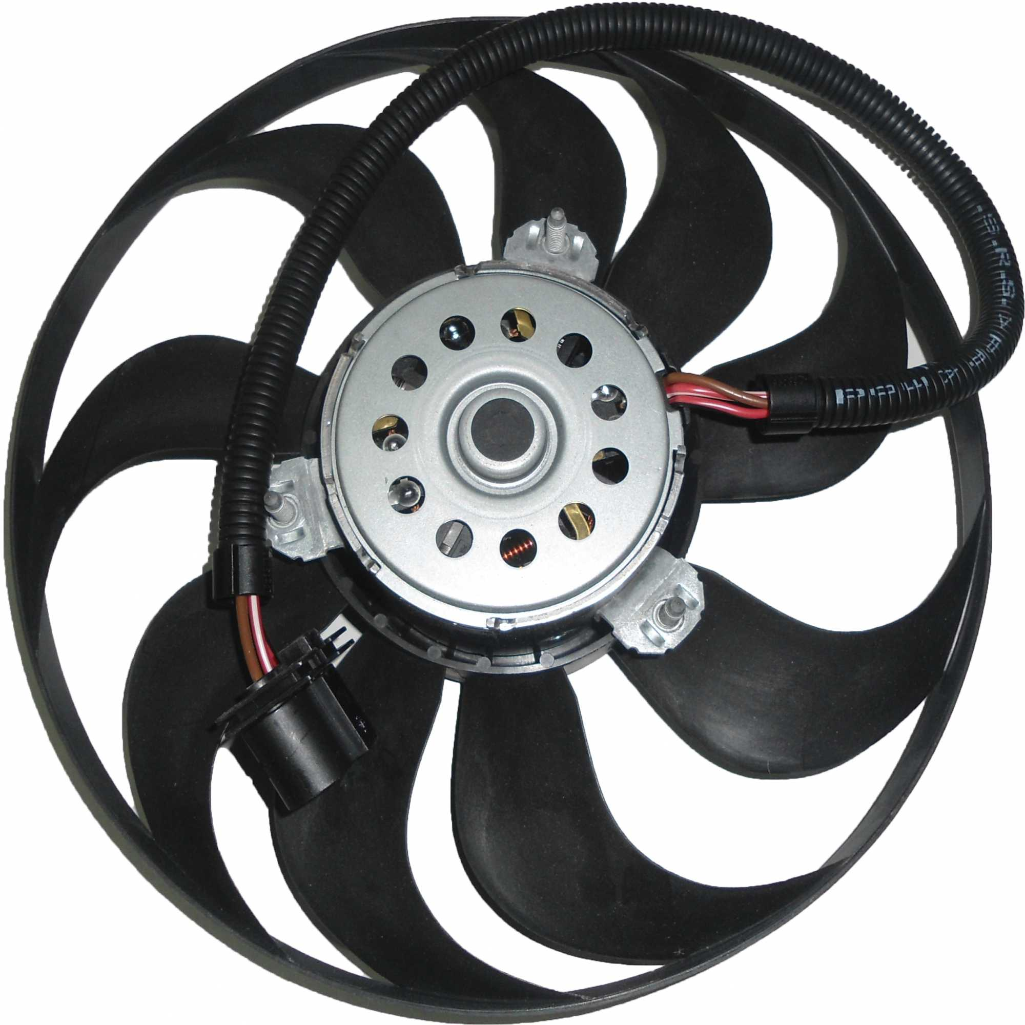 Eletroventilador - Golf/Bora/A3 Ld Motor Chato Largo Golf/Bora/A3 Ld Motor Chato Largo 290Mm 9 Pas
