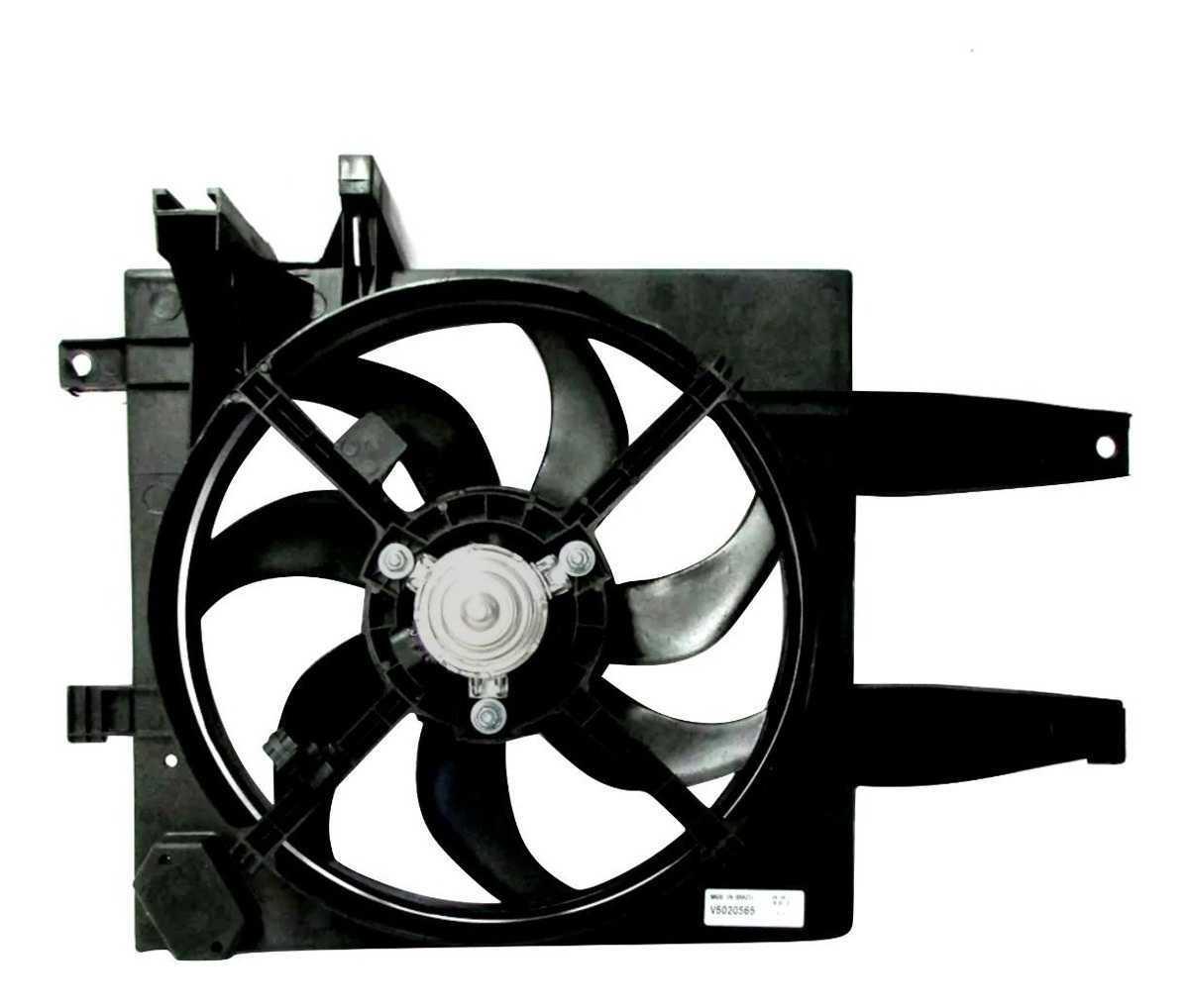 Eletroventilador - Palio 01/Idea 1.4 06 S/Ar Gmv Sist. Behr Palio 01>/Idea 1.4 06> S/Ar Gmv Sist. Behr Pe Curto