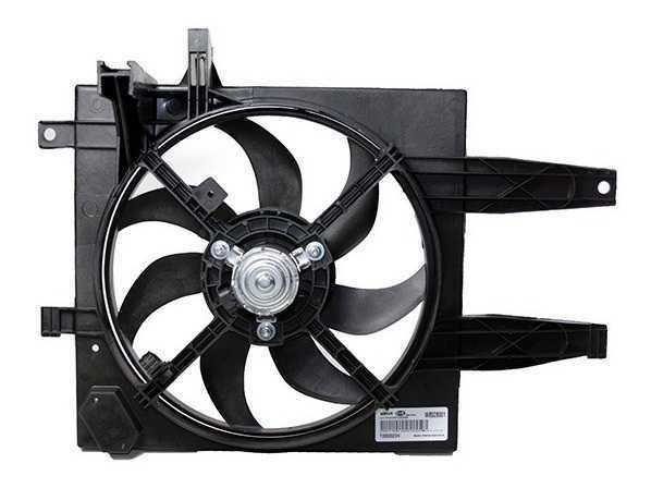 Eletroventilador Palio Siena Strada 2007 A 2013 S/Ar