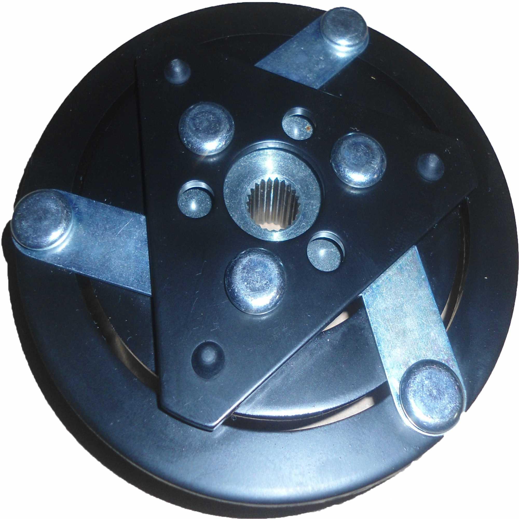 Embreagem Compressor Sanden 7H15 Chaveta
