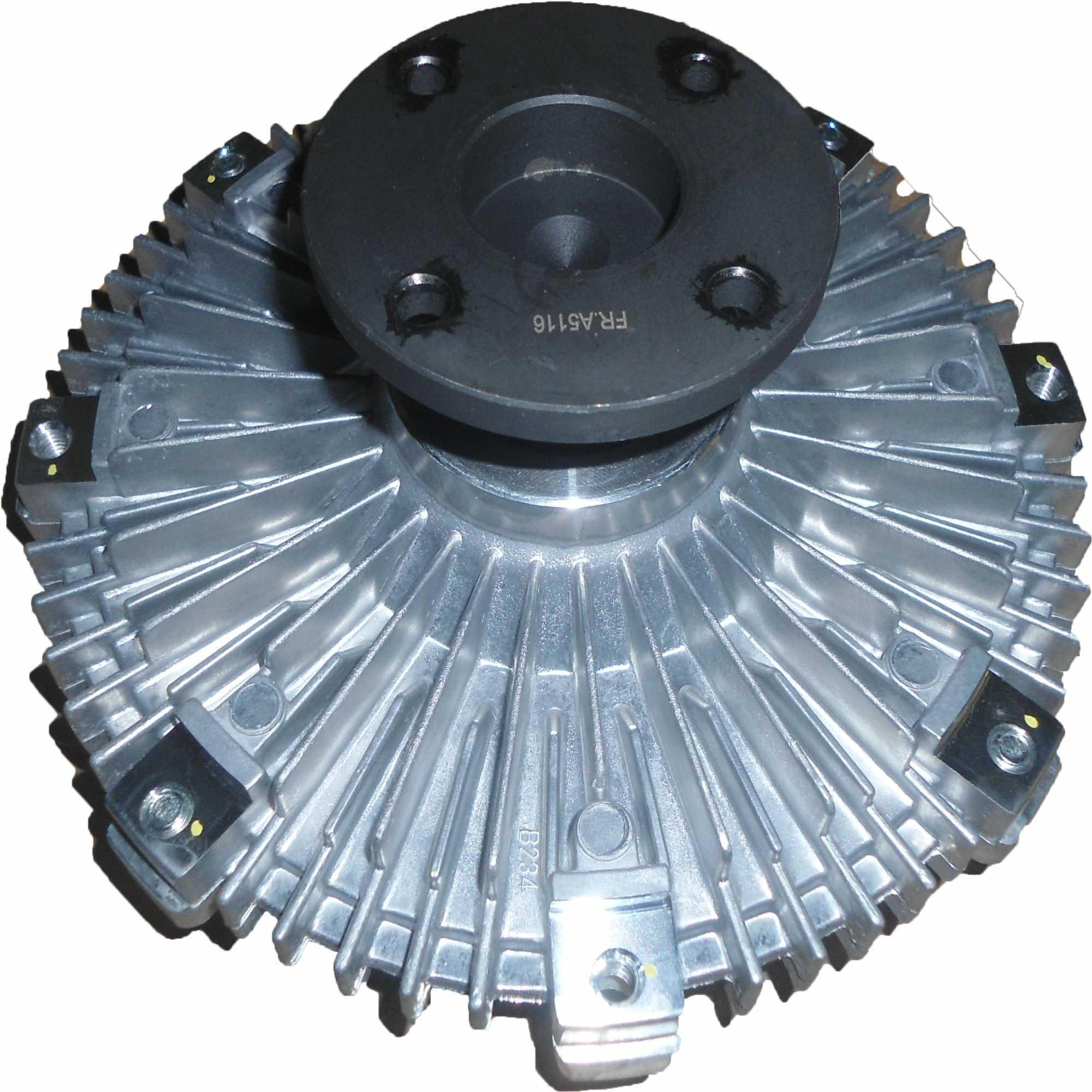 Embreagem Viscosa - Nissan Frontier 2.5 Diesel 07>12 Oem-21082Eb30A/N01He304/210