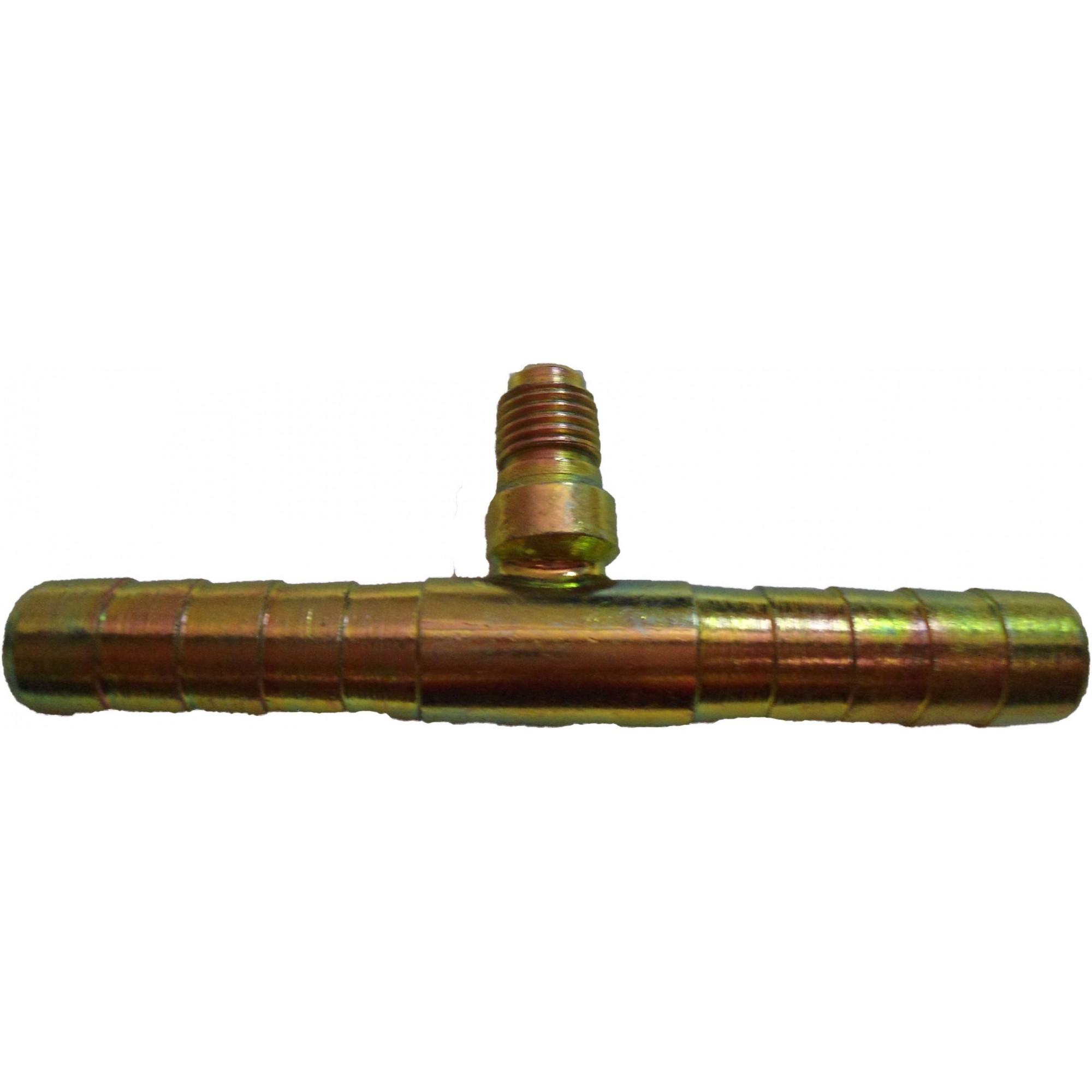 """Emenda - Aco 10mm C/valv.serv.r12 """"succao"""""""