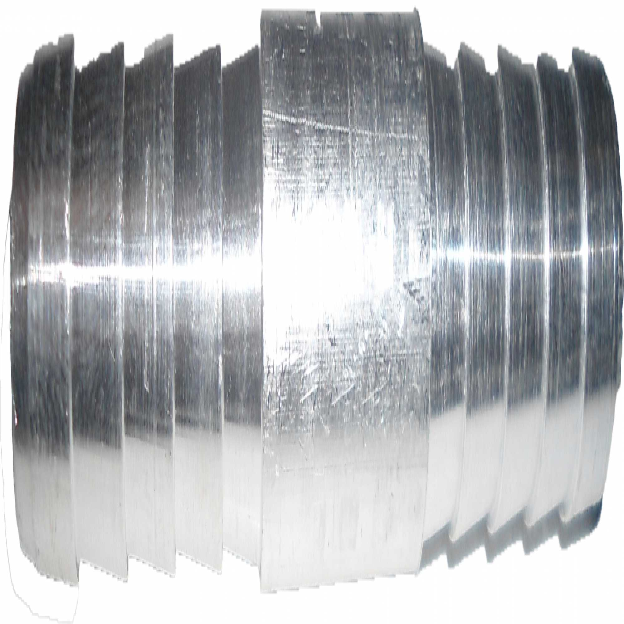 "Emenda - Aluminio 8Mm ""Descarga"""