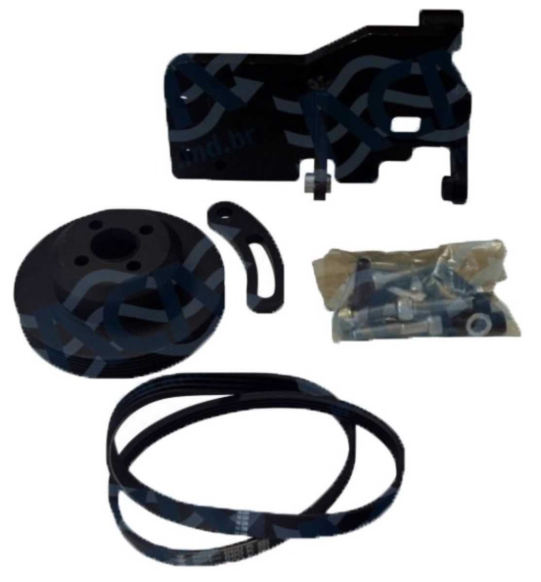 Kit Suporte Compressor - Ducato/Jumper/Boxer 11 2.3 Ducato/Jumper/Boxer 11> 2.3 *7H15 Orelha 8Pk*
