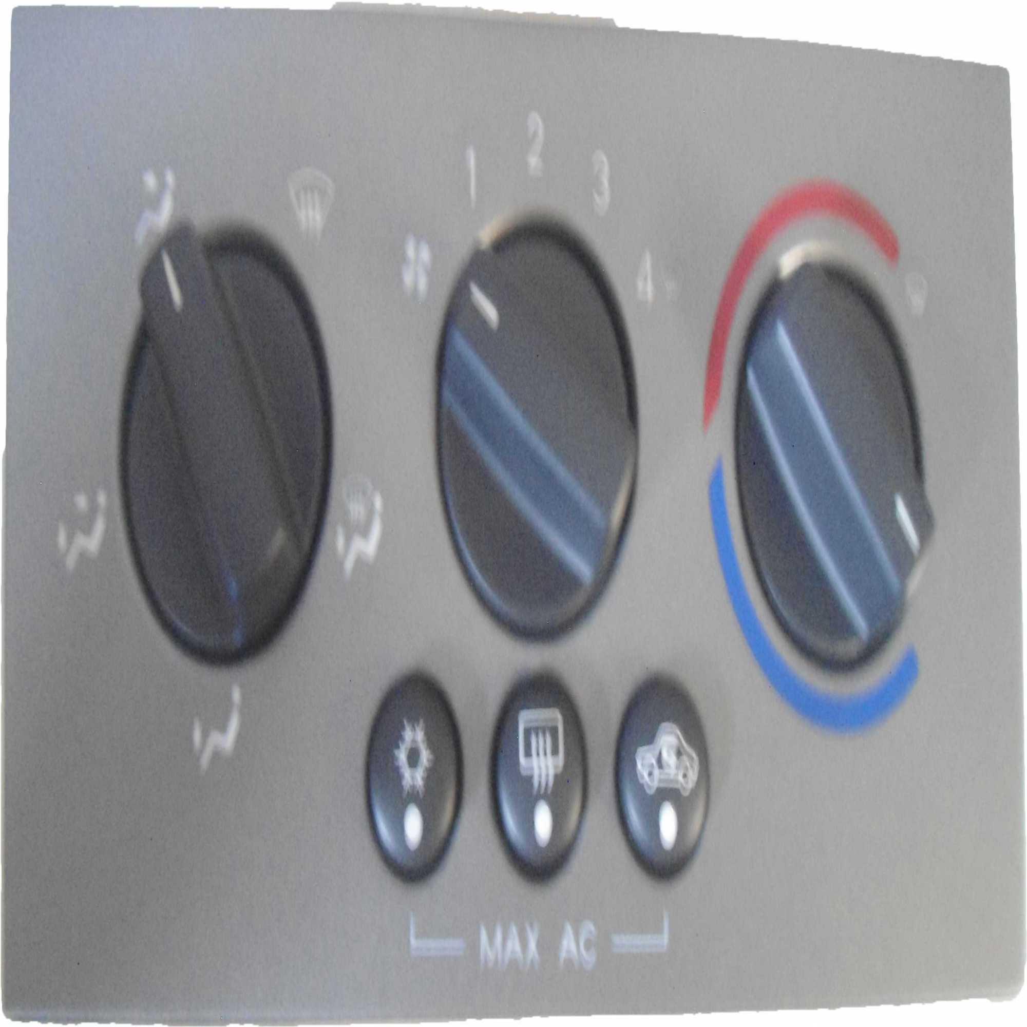 "Painel Controle - Vectra 06 C/Mascara ""Analogico"""