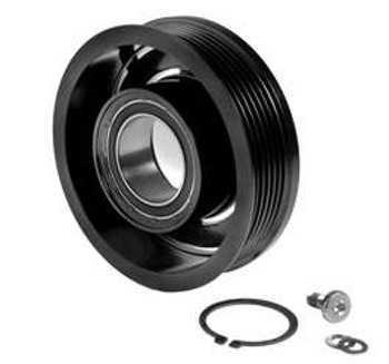 Polia Compressor - Astra 99/Zafira 03/Vectra 06/Gol/Parati/ Astra 99>/Zafira 03>/Vectra 06>/Gol/Parati/Saveiro 1.6/1.8 03>/S10 2.4/2.8 Cvc 6Pk C/Rolamento