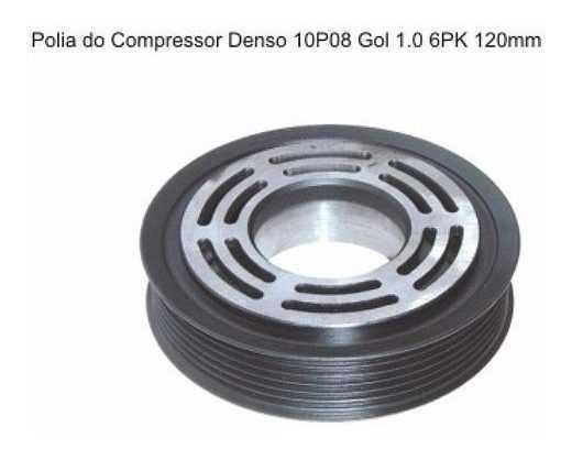 Polia Compressor - Gol/Parati 1.0 10P08 6Pk 120Mm