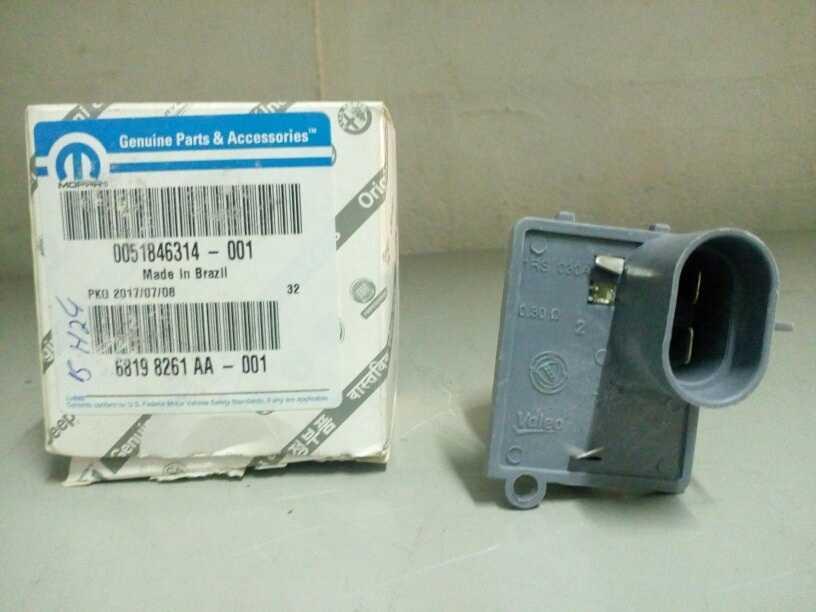 Resistencia Eletroventilador - Uno Evo/palio 12/grand
