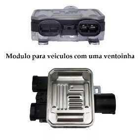 Resistencia Eletroventilador - Volvo S60/S80/V60 Volvo S60/S80/V60/Xc60/Xc70 07>/Evoque/Freelander *Modulo Eletronico* P/Veiculo Com Um Eletroventilador