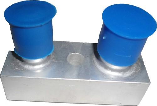 """Valvula Conector - Compressor Ford Fic """"entrada/saida"""