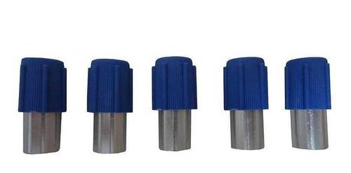 Valvula Enchimento Ar Condicionado Baixa Fox/g5/g6/golf 5pcs