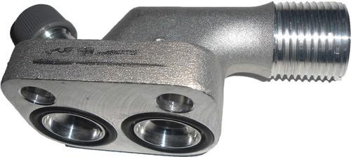 """Valvula Servico - Succao Compressor 10p15 """"valtra Bh"""""""