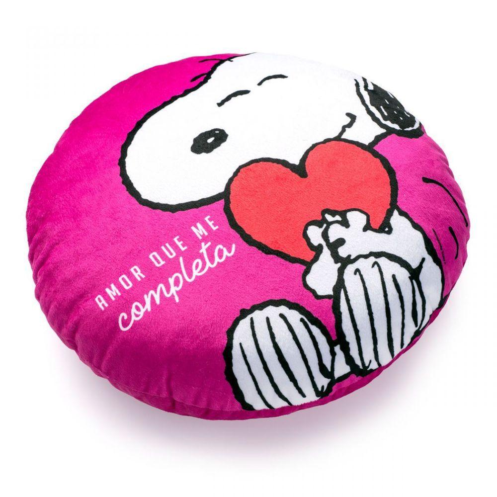 Almofada Com Bolso Snoopy