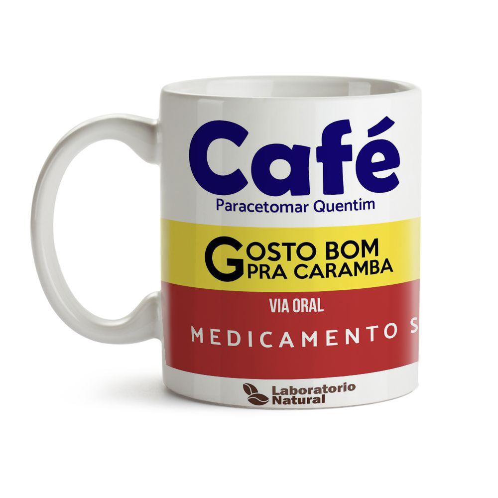 Caneca Café Caixa de Remédio