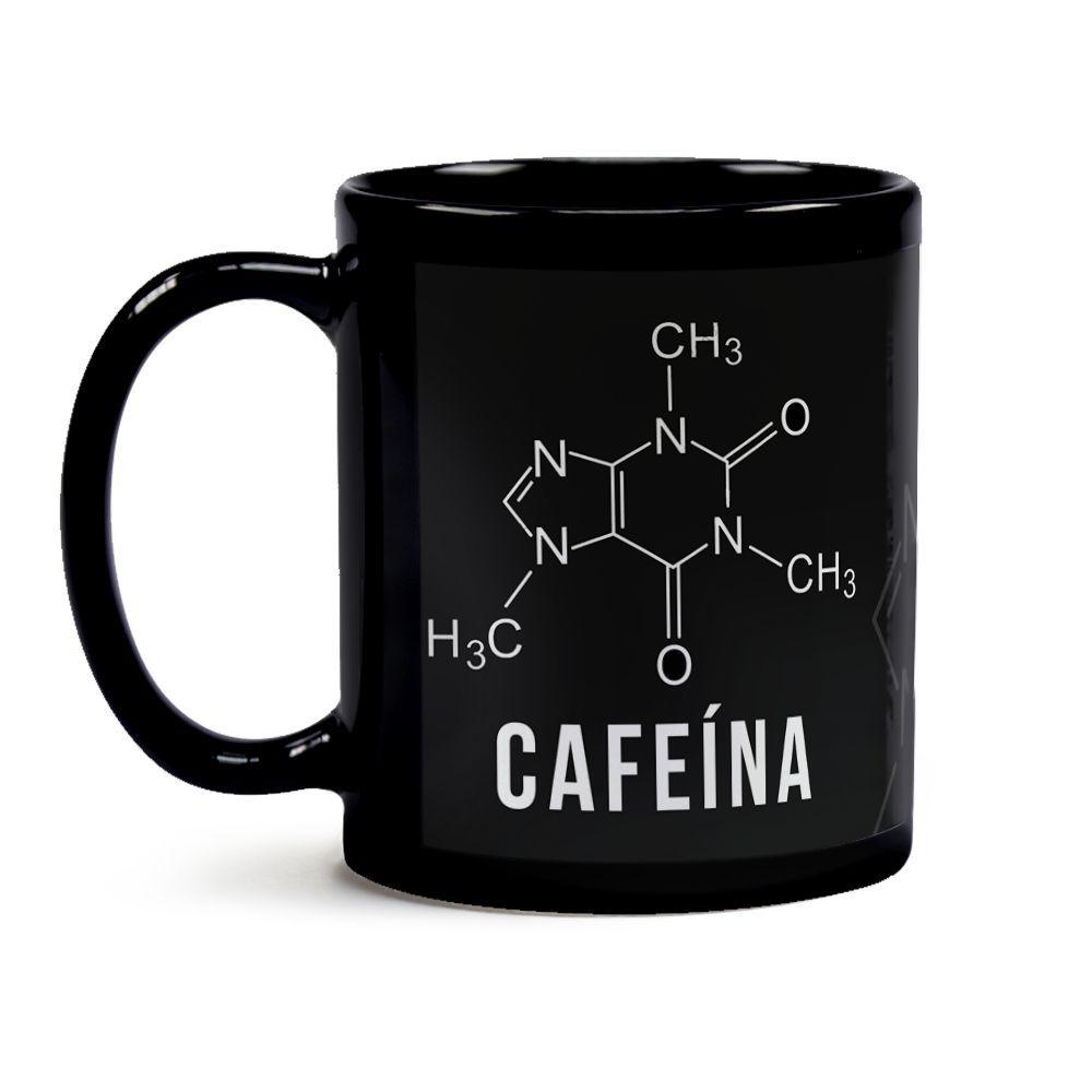 Caneca Cafeína Fórmula Química