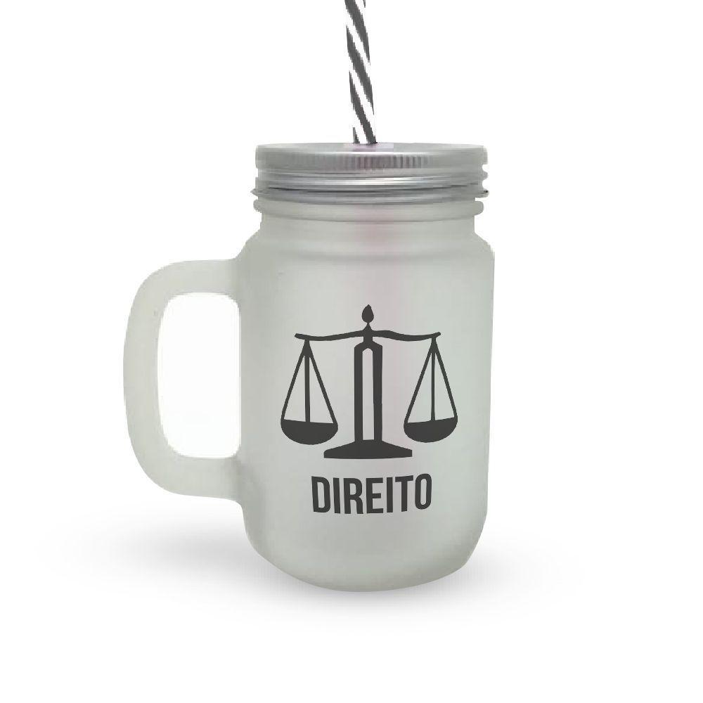 Caneca Canudo Profissão Direito