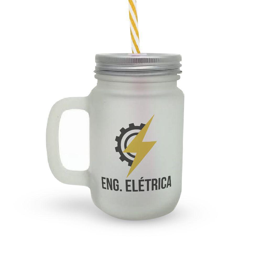 Caneca Canudo Profissão Eng. Elétrica