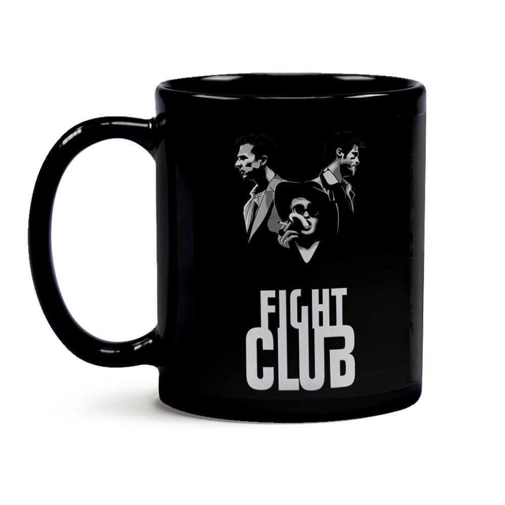 Caneca Clube Da Luta Black