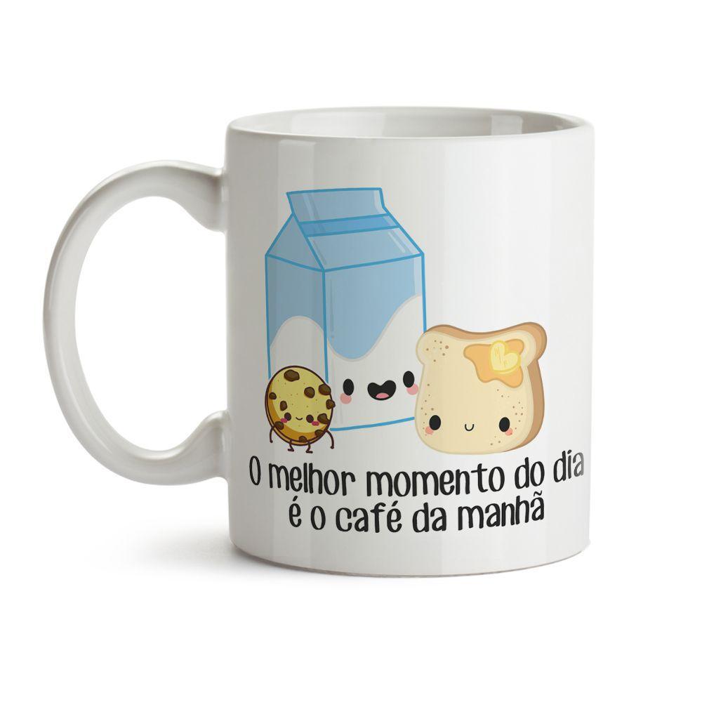 Caneca Comidinhas Café Da Manhã