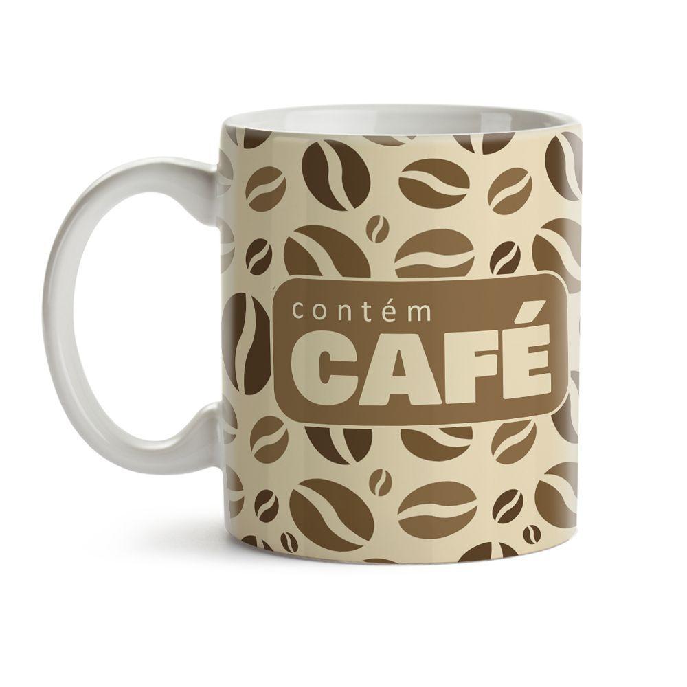 Caneca Contém Café 02