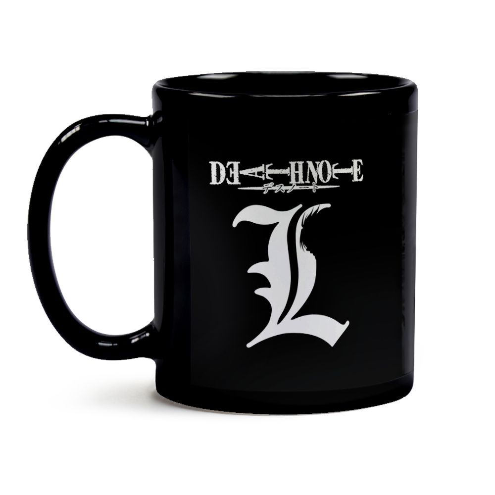 Caneca Death Note -  L Black
