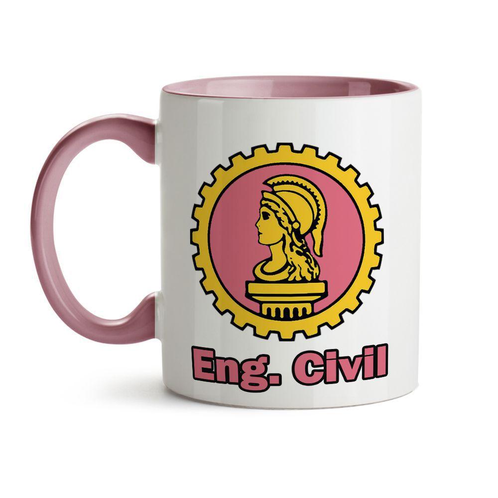 Caneca Engenharia Civil Símbolo e ícones