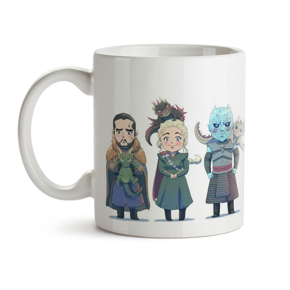Caneca Game Of Thrones Anime