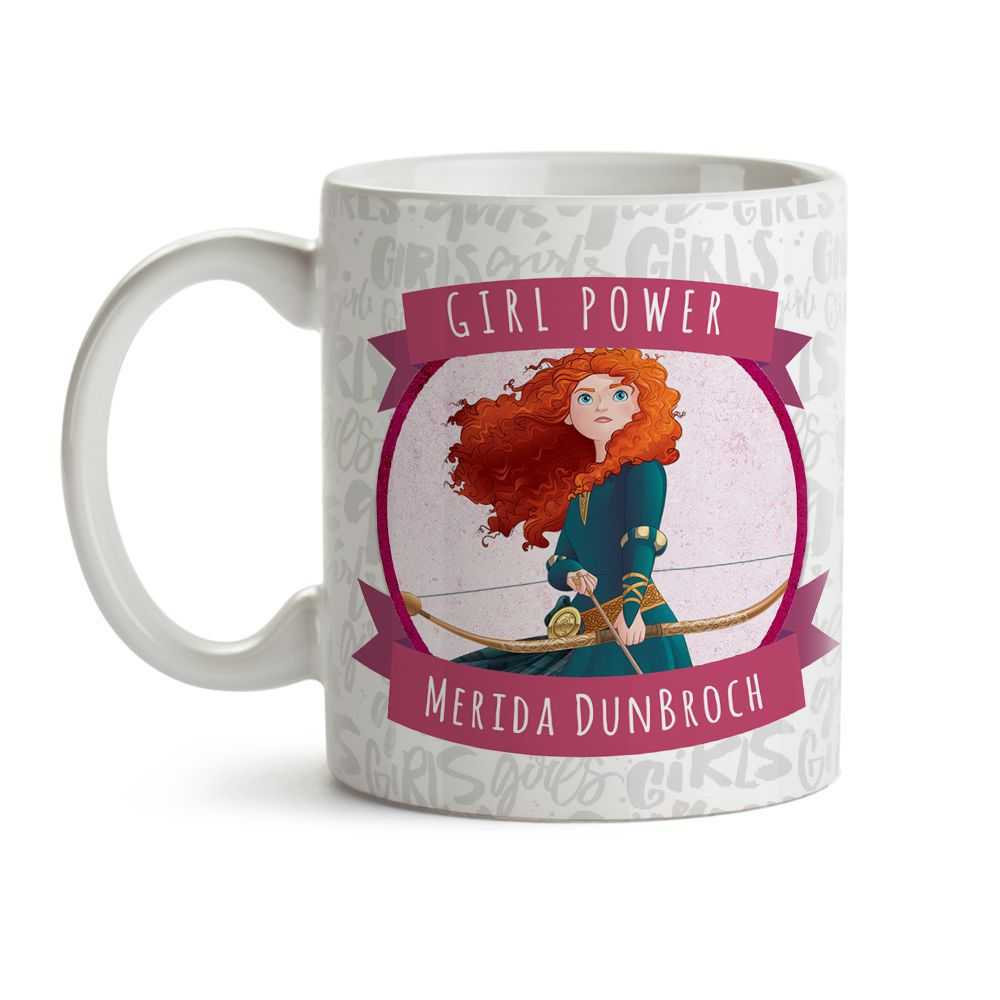 Caneca Girl Power Merida