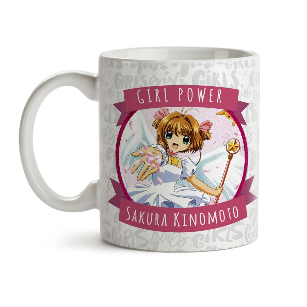 Caneca Girl Power Sakura