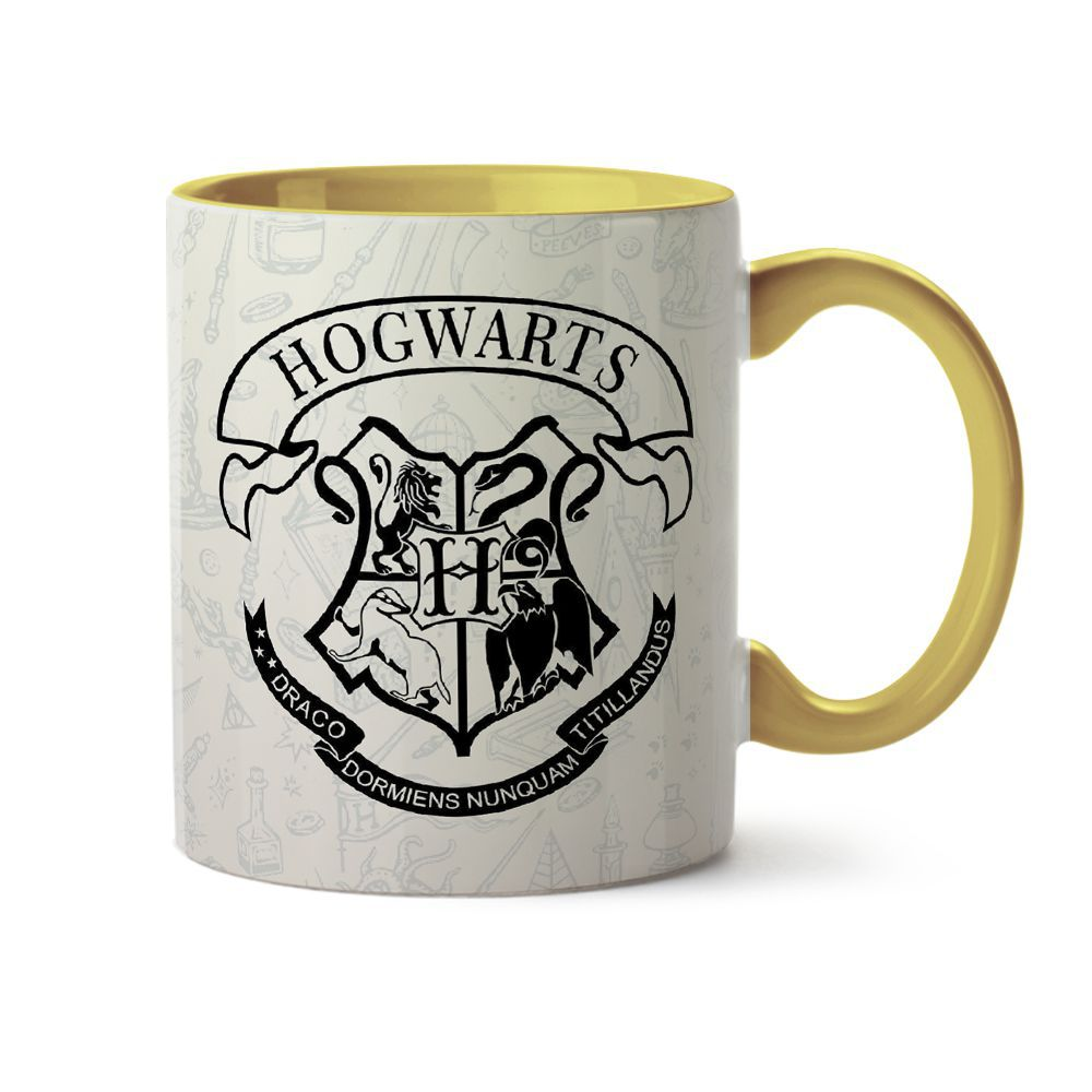 Caneca Harry Potter Arte
