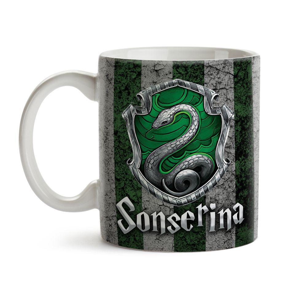 Caneca Harry Potter - Sonserina