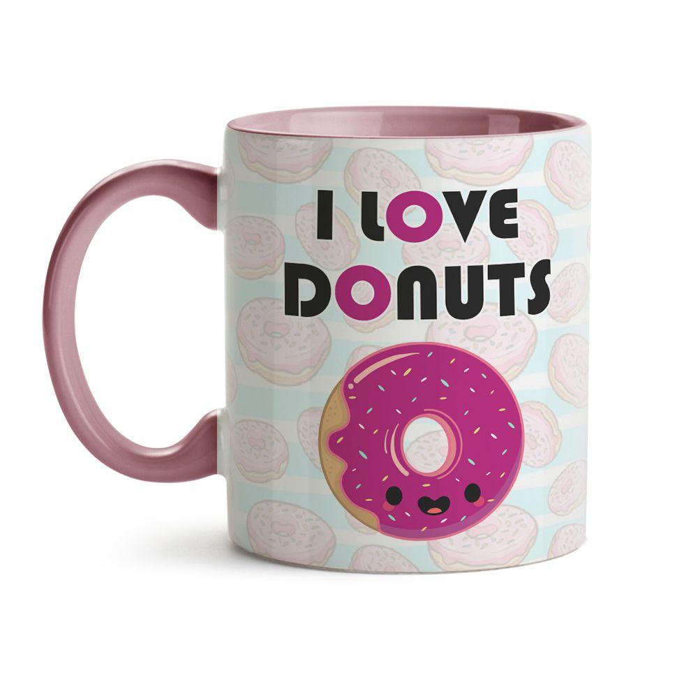 Caneca I Love Donuts