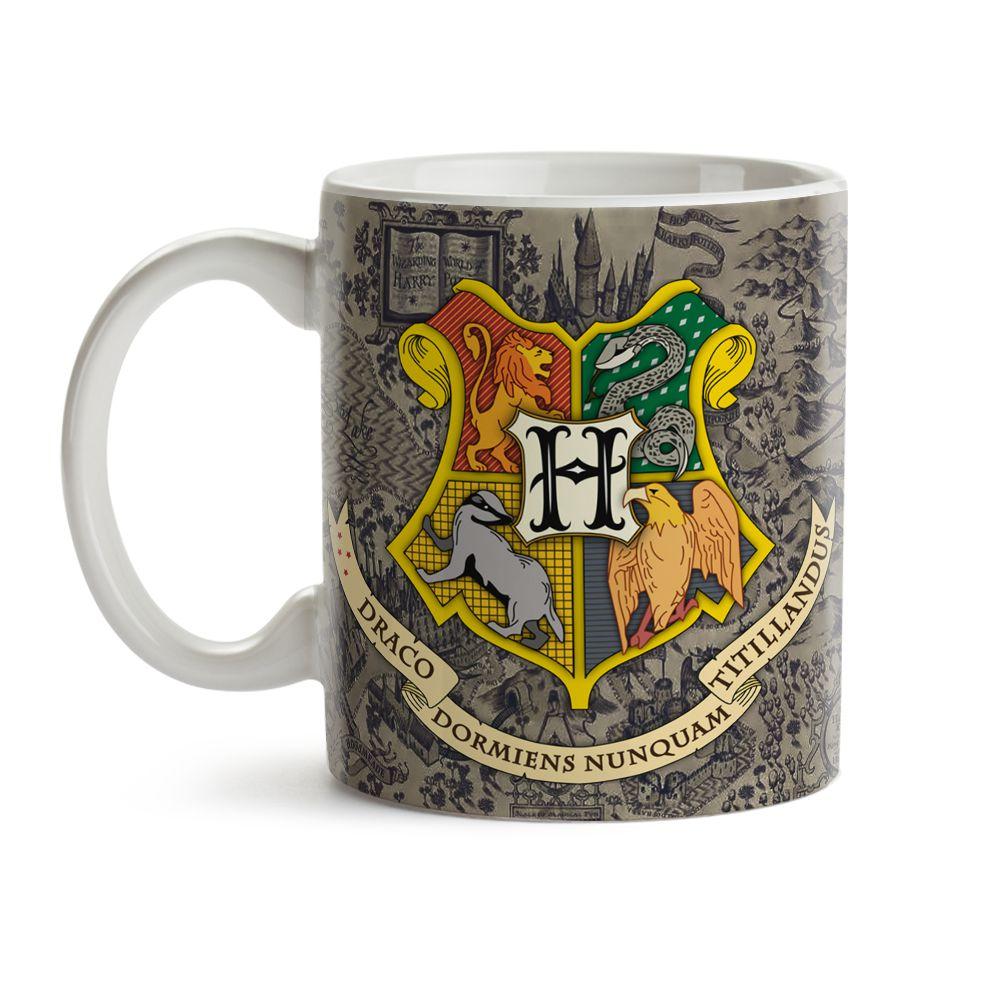 Caneca Mágica Harry Potter Hogwarts 03