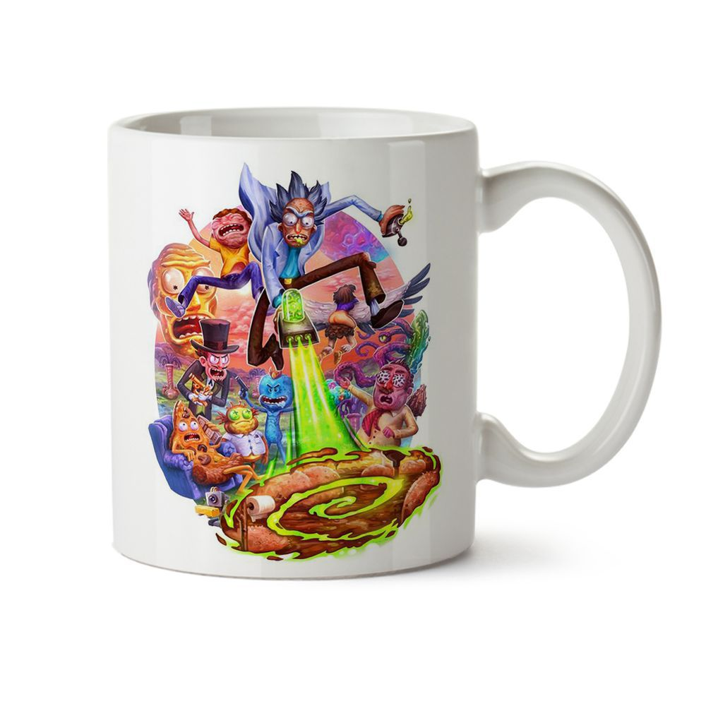 Caneca Rick And Morty 01