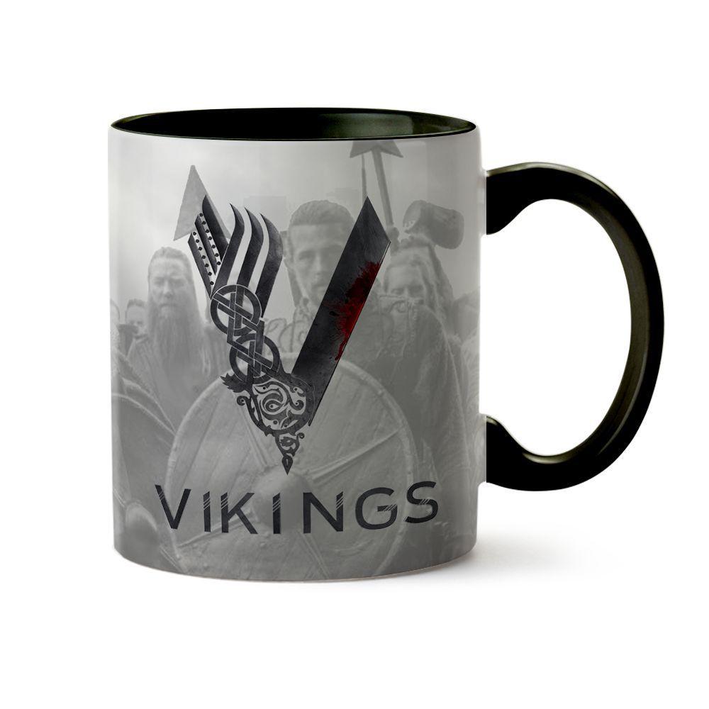 Caneca Série Vikings - Ragnar 04