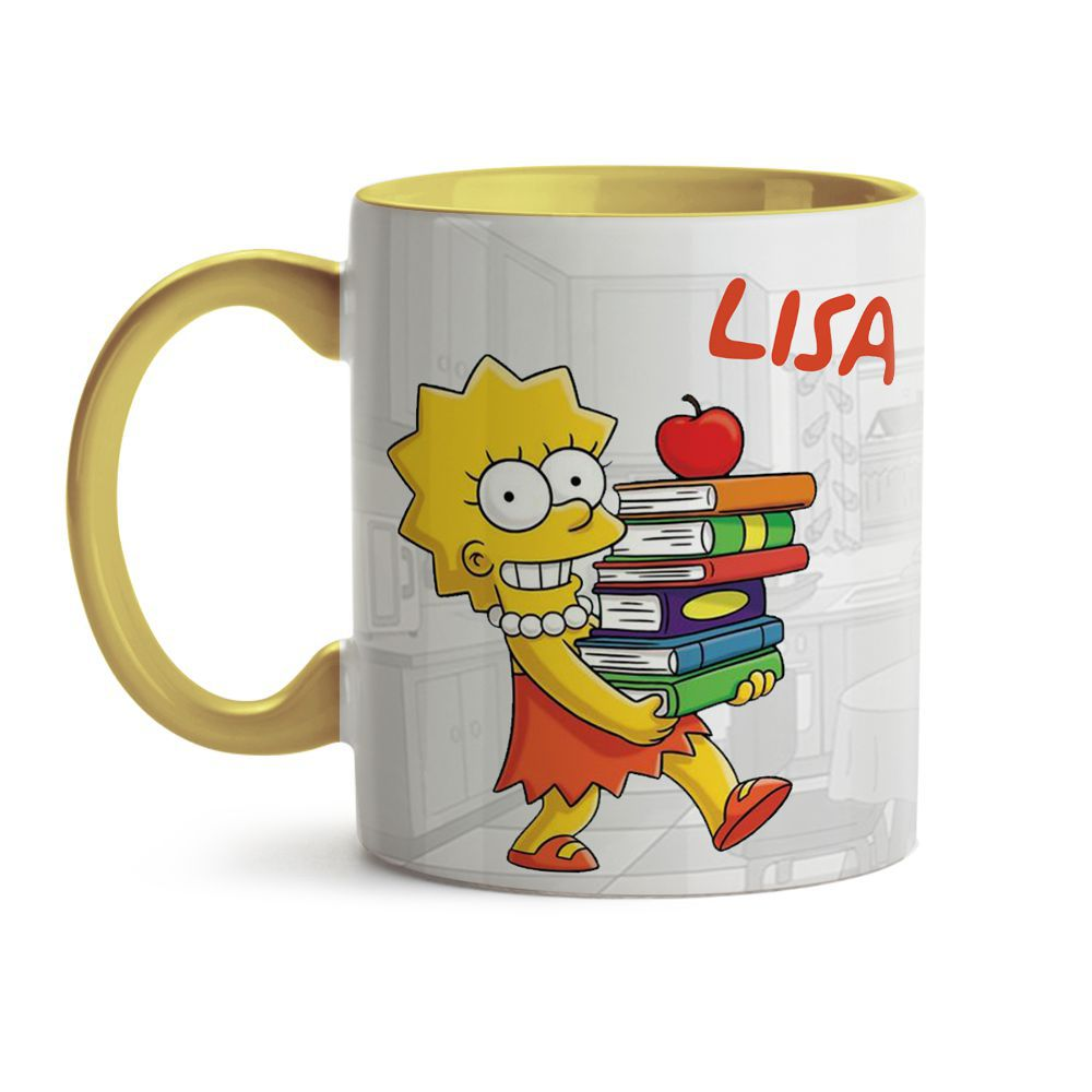 Caneca Simpsons - Lisa