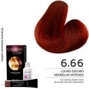 Extreme color - Coloração permanente 60G - Nº 6.66