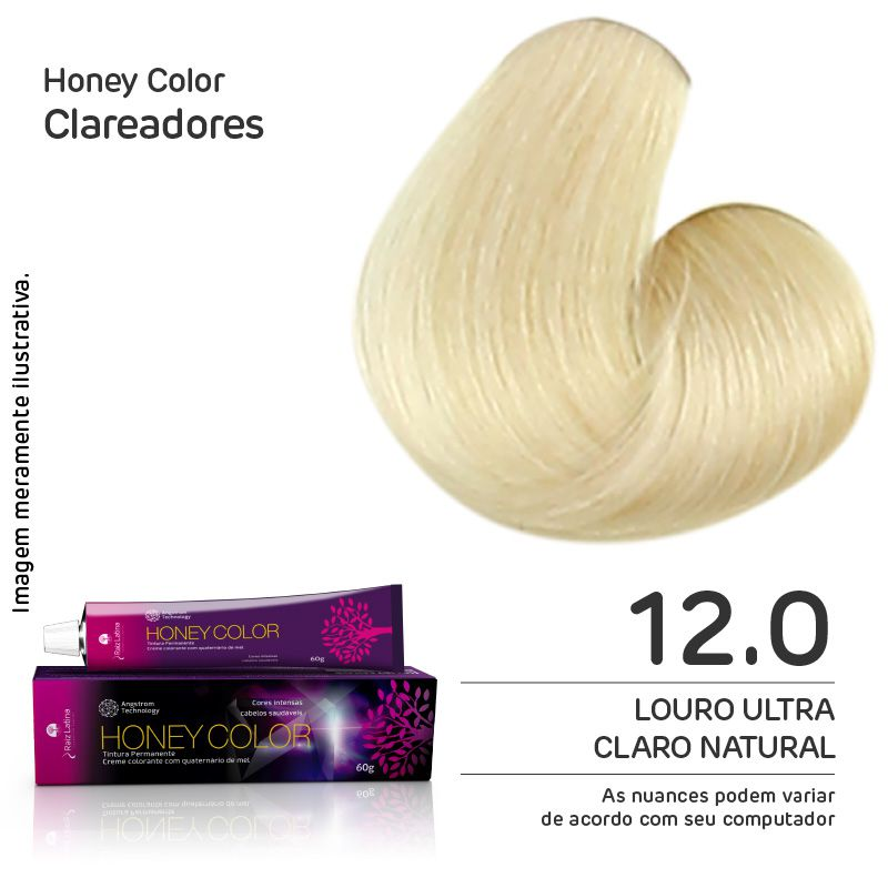 Coloração Honey Color 12.0 60g