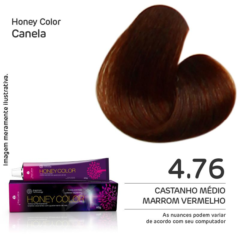 Coloração Honey Color 4.76 60g