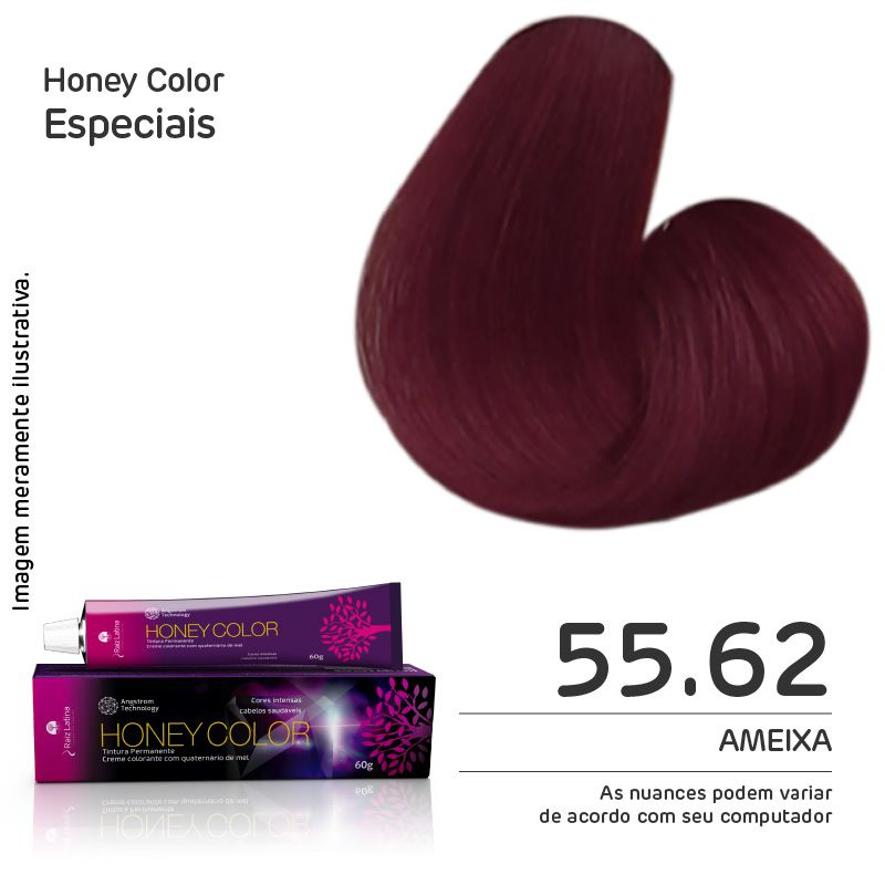 Coloração Honey Color 55.62 60g