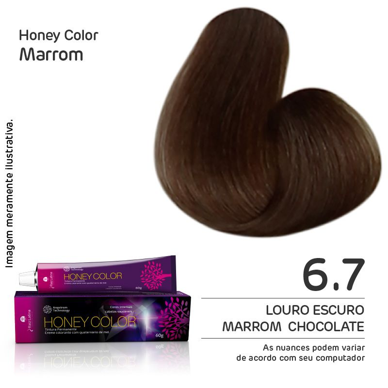 Coloração Honey Color 6.7 60g