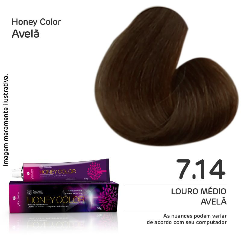 Coloração Honey Color 7.14 60g