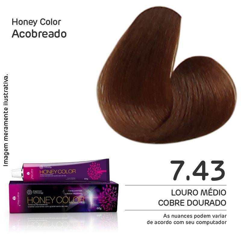 Coloração Honey Color 7.43 60g