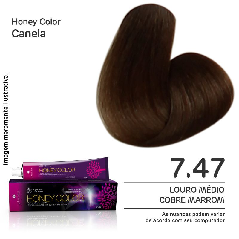 Coloração Honey Color 7.47 60g