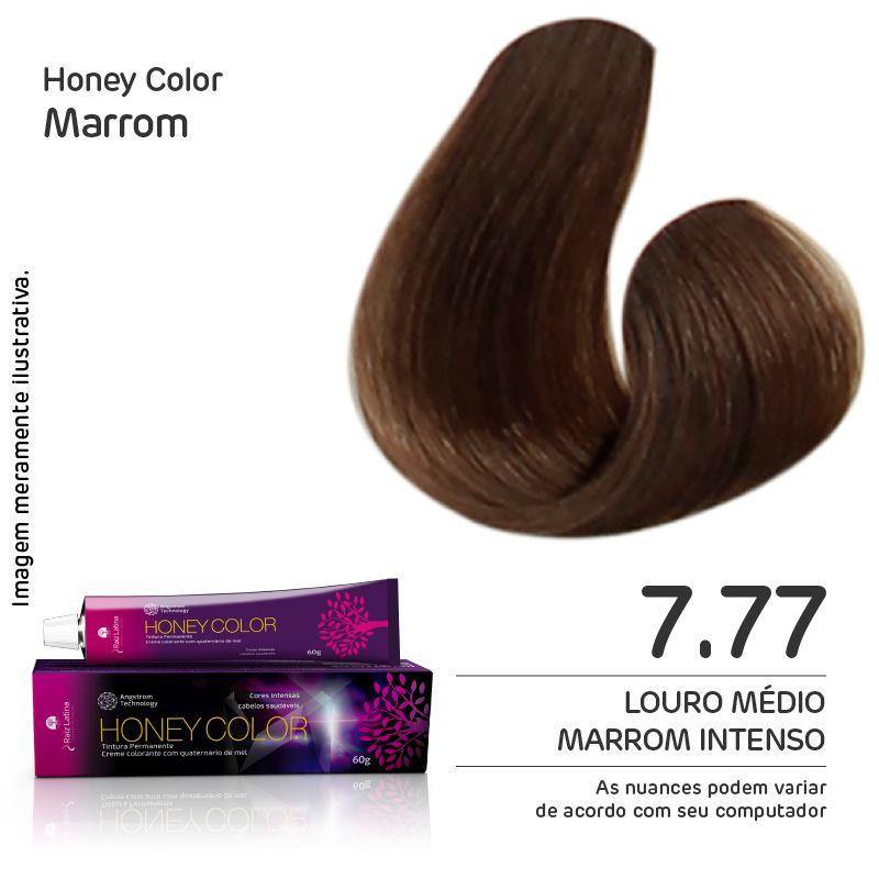 Coloração Honey Color 7.77 60g