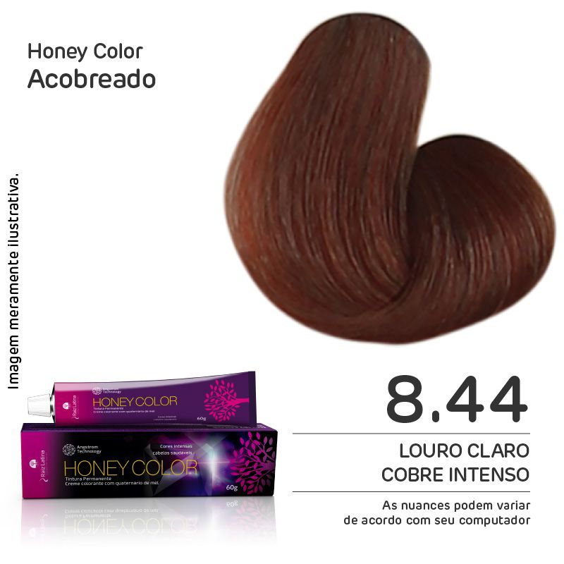 Coloração Honey Color 8.44 60g