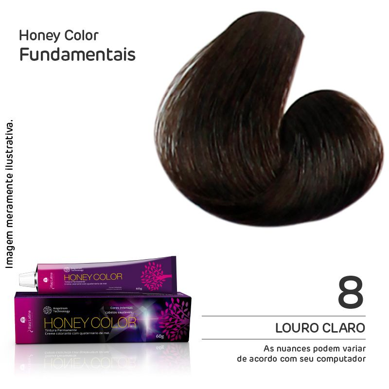 Coloração Honey Color 8 60g