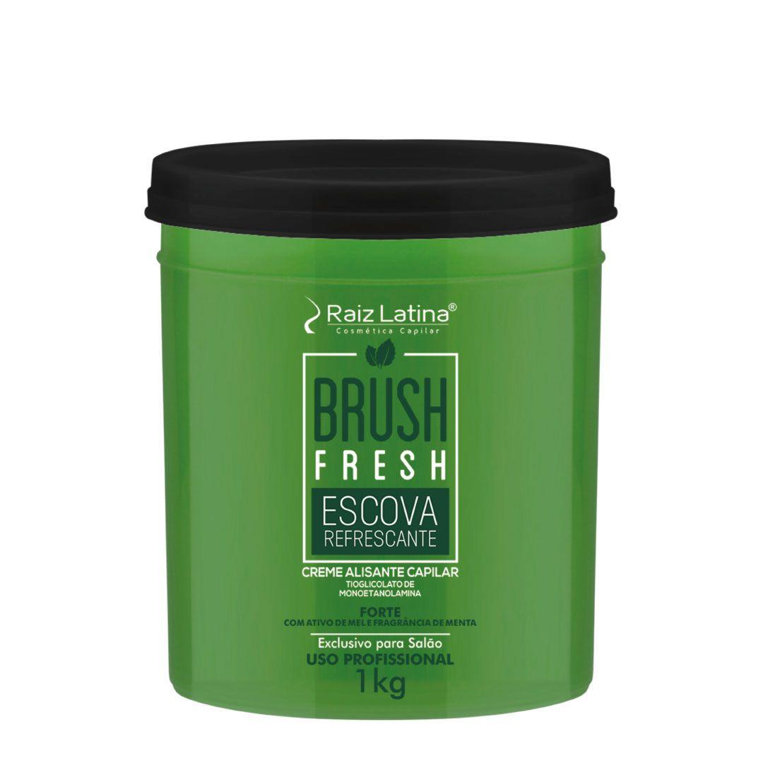 Creme alisante capilar Brush Fresh - Tioglicolato de Monoetanolamina  1kg