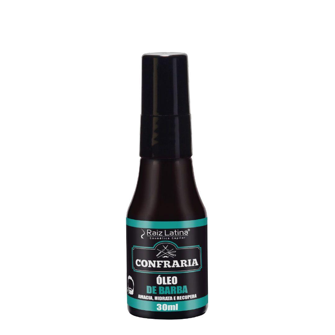 Óleo de barba Confraria 30ml